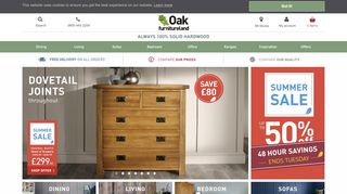 Oak Furniture Land Livingston