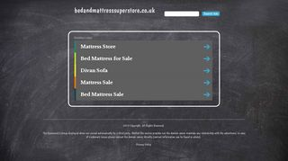 Bed & Mattresses Superstore
