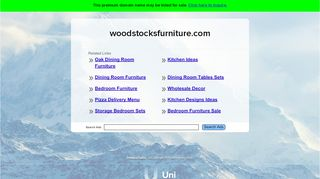 Woodstock's Furniture