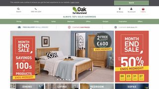 Oak Furniture Land Paisley