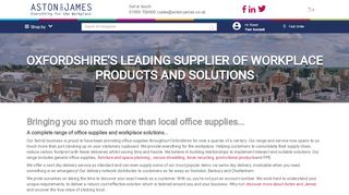 Aston & James Office Supplies