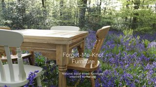 Forget-Me-Knot Furniture