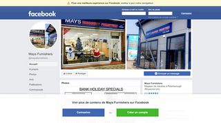 Mays Discount Furnishers
