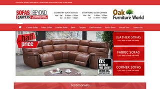 Sofas Carpets & Beyond