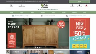 Oak Furniture Land Hereford