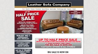Leather Sofa Co Cardiff
