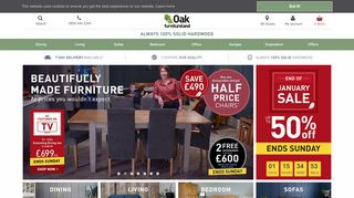 Oak Furniture Land Milton Keynes
