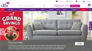 DFS Furniture Matlock