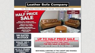 Leather Sofa Co Newport