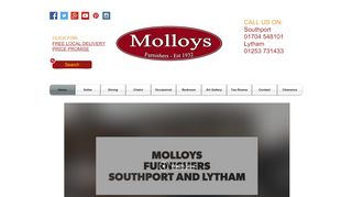 Molloys Furnishers Southport