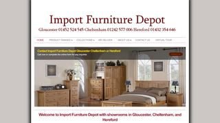 Import Furniture Depot Gloucester