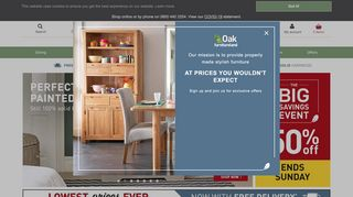 Oak Furniture Land Poole