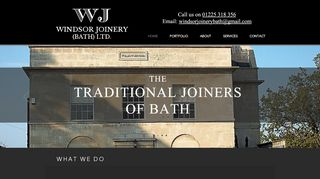 Windsor Joinery Bath