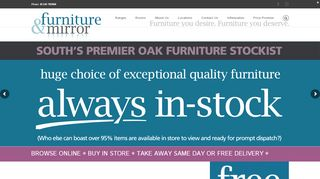 Furniture & Mirror Worthing