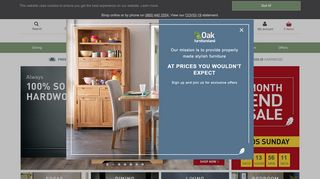Oak Furniture Land Swindon