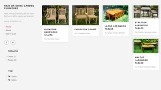 Rain Or Shine Garden Furniture